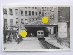 Photo 1959 Lyon (OTL) Station St Jean - Fourvière St Just Funiculaire Tram Tramway - Places