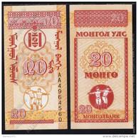 Mongolia - 20 Mengo 1993 UNC - Mongolia