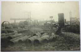 ENTRÉE DE LA SUCRERIE - LES RUINES  - FLAVY LE MARTEL - France
