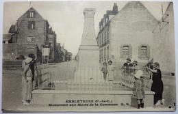 MONUMENT AUX MORTS DE LA COMMUNE  - AMBLETEUSE - Frankreich