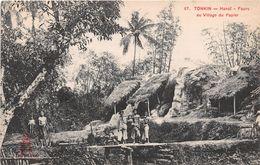 VIET-NAM - TONKIN - HANOI - Fours Au Village Du Papier - Viêt-Nam
