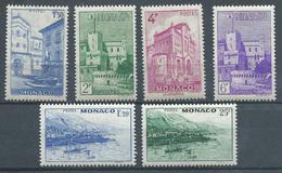 Monaco N°275/280 Vues De La Principauté Neuf ** - Monaco