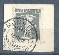 Tellknabe 138II, 7,5 Rp.grau  MONSTEIN (GRAUBÜNDEN)          1919 - Gebraucht