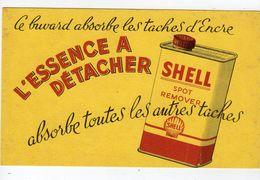 Sept17  79471     Buvard   L'essence à Détacher  SHELL - Gas, Garage, Oil