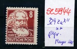 DDR  Nr.  329 Za  XII  Geprüft **   (se5944  )  Siehe Bild - [6] Oost-Duitsland