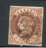 ESPAGNE - ISABELLE II N° Yvert 54 Obli. - Used Stamps