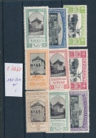 Rumänien  Nr. 197-204 *  (t7365  )  Siehe Bild - 1918-1948 Ferdinand, Carol II. & Mihai I.
