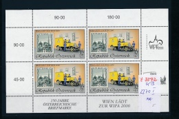 Österreich  Block 2270  I **   (t7572   )  Siehe Scan - Blocks & Kleinbögen