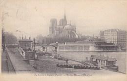 CPA Paris, La Seine A Travers Paris, Notre Dame Et La Cité (pk39208) - Arrondissement: 04