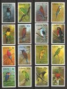 LIBERIA  1997  BIRDS   SET   MNH - Oiseaux