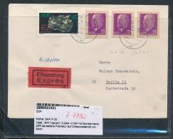 DDR  GAA  Auf Express Brief Selten !...netter Beleg   (t7992 )  Siehe Scan - [6] Repubblica Democratica