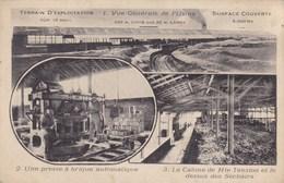 CPA Lille, La Brique Moderne, Vue Générale De L'Usine, Presse A Brique Automatique, Etc...  (pk39213) - Lille
