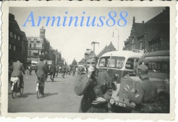 Lkw - Mercedes-Benz - Noorbeek - Maastricht - Niederlande - Wehrmacht - Netherlands - Pays-Bas - Lastkraftwagen - War, Military