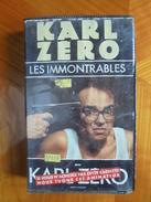 Ancienne Cassette Vidéo KARL ZERO Les Immontrables 1991 - Séries Et Programmes TV
