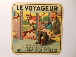A-53088 - Etiquette De Fromage CARRE LE VOYAGEUR - BESNIER A LAVAL - MAYENNE - Fromage