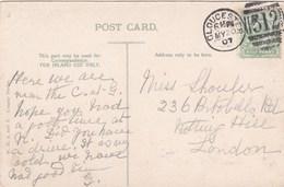1907 GLOUCESTER DUPLEX CANCELLATION - Poststempel