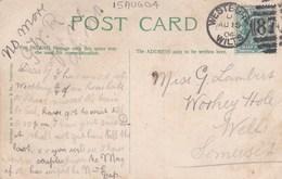1904 WESTBURY, WILTS  DUPLEX CANCELLATION - Poststempel
