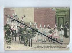 CPA Abîmée - Amiens  - Fête Enfantine Du 30 Juin 1907-  Organisée Par  M.Souillard Ancien Négociant Droguiste- (ane) - Amiens