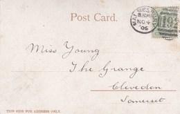 1906  MALMESBURY  DUPLEX CANCELLATION - Postmark Collection