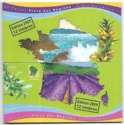 BC 16  Deux Carnets Flore Des Régions De 2009 N++ - Carnets
