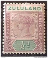 Zululand  1894-1896 MH*  # 15 - Zululand (1888-1902)