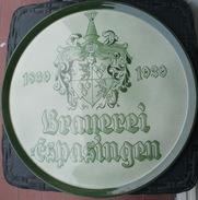 PLAT Georg SCHMIDER Zell Harmersbach Diamètre 36 Cm - Peut S'accrocher - Céramiques