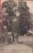 Hemixem Hemiksem Krijgsdepot Van St. Bernard Depot De Entree Du 1911 Afgestempeld ZELDZAAM Geanimeerd Armee Belge - Hemiksem