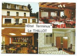 CP LE THILLOT, HOTEL BAR RESTAURANT LE TERMINUS, VOSGES 88 - Le Thillot