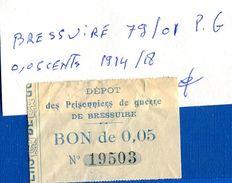 Bressuire  79/01  Pg  0.05  Cents  1914/18 - Notgeld