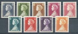 Monaco YT N°478/486 Princesse Grace Neuf ** - Nuovi