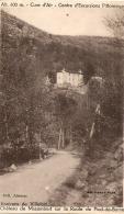 ----48-----  Château MAZEMBERT  Sur La Route Pied De Borne Timbbre Décollé - - France