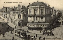 LIMOGES  CARREFOUR TOURNY    Tram Tamway Tranvia - Limoges
