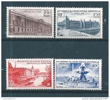 France Timbres De 1947  N°780 A 783   Neufs ** Parfait - France