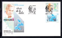 ANDORRA ESPAÑOLA 1994. EUROPA CEPT SOBRE PRIMER DIA.FDC EDIFIL 242/243  . CECI 1 Nº 250 - Lettres & Documents
