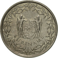 Surinam, 25 Cents, 2009, SUP, Nickel Plated Steel, KM:14A - Surinam 1975 - ...