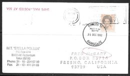1992 Paquebot Marking Netherlands Stamp Mailed In Ramsgate UK (15 Dec 1992) - 1952-.... (Elizabeth II)