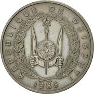 Djibouti, 50 Francs, 1986, Paris, SUP, Copper-nickel, KM:25 - Djibouti