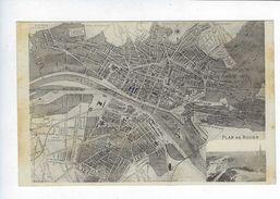 CPA Rouen Plan De Rouen - Rouen