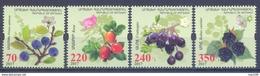 2017. Mountainous Karabakh, Flora, Berries Of Artsakh, 4v, Mint/** - Armenia