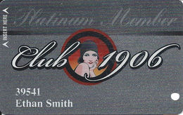 Golden Gate Casino - Las Vegas, NV - Platinum Member 2nd Issue Slot Card - Casino Cards