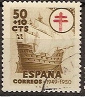 España U 1068 (o) Tuberculosos 1949 - 1931-Hoy: 2ª República - ... Juan Carlos I