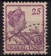 Ned. Indië: Langebalkstempel KEPANDJEN (283) Op 1913-1932 Koningin Wilhelmina 25 Cent Lila NVPH 124 - Indes Néerlandaises