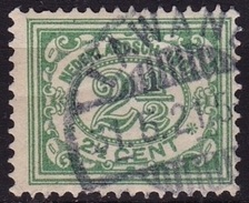 Ned. Indië: Langebalkstempel LAWANG (355) Op 1912-1930 Cijferserie 2½ Cent Groen NVPH 103 - Indes Néerlandaises