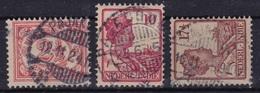 Ned. Indië: Langebalkstempel PAJAKOMBA (506) En PAJACOMBA ? Op 1913-1932 Koningin Wilhelmina En Cijfer NVPH 104-115-119 - Indes Néerlandaises