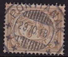 Ned. Indië: Superbe Kortebalkstempel PONTIANAK (598) Op 1912-1930 Cijferserie 7½ Cent Grijsbruin NVPH 113 - Indes Néerlandaises