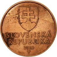 Slovaquie, 50 Halierov, 2006, TTB, Copper Plated Steel, KM:35 - Slovaquie
