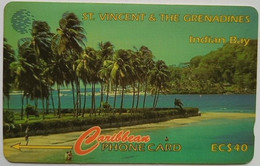 St Vincent 142CSVA Indian Bay $40 - St. Vincent & The Grenadines