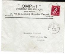 724 U  Obl  Ghislenghien Sur Lettre - 1946 -10%