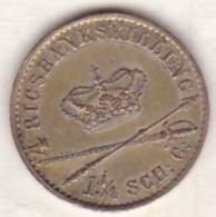 Denmark . 4 Rigsbankskilling 1841 FK , Christian VIII, En Argent, KM# 721.1 - Danemark