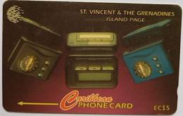 St Vincent 221CSVB Island Page $5 - St. Vincent & The Grenadines
